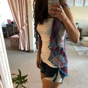 Tops - Hand Knitted Vest
